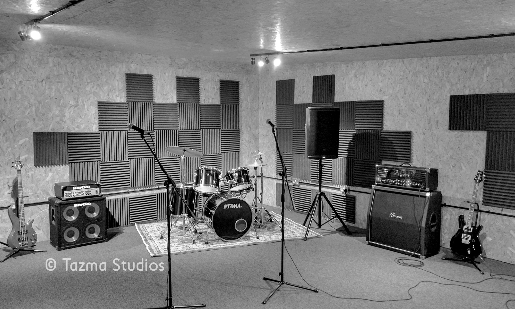 Rehearsal Studios in Exeter